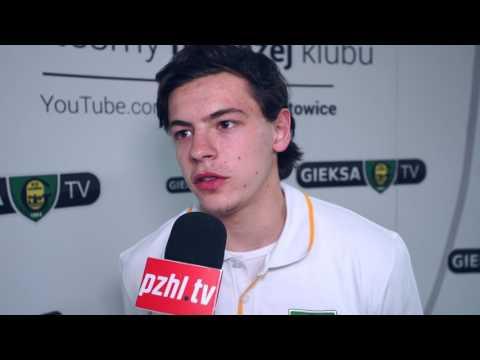 [www.pzhl.tv]  - Decyzji o grze w Katowicach nie będę żałował - Patryk Wronka