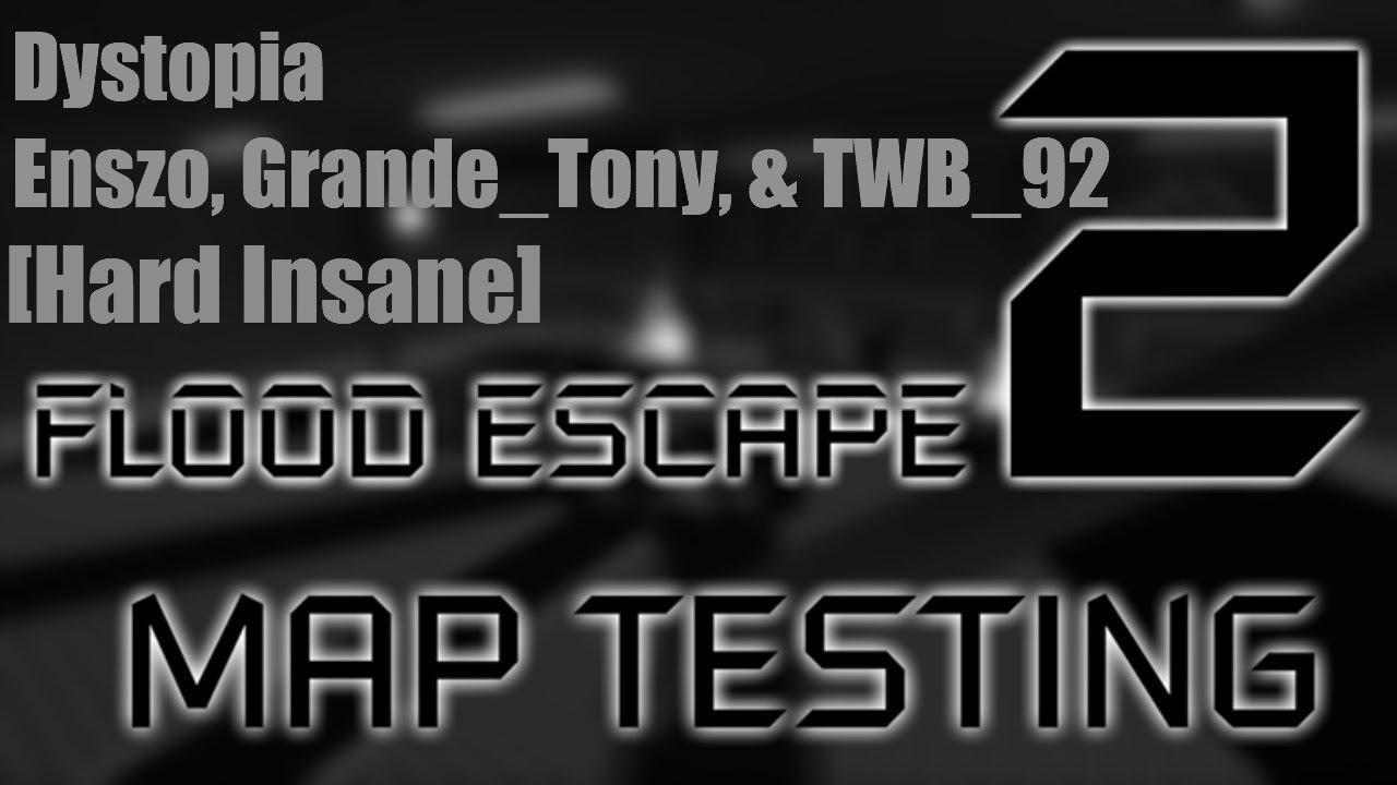 Video Fe2 Dystopia Hard Insane Roblox Flood Escape 2 - roblox flood escape winning hard so easy youtube