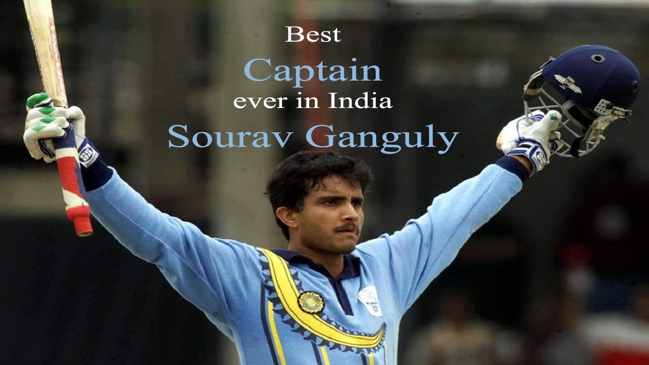 Sourav Ganguly Captaincy Record - Best Captain Ever - YouTube