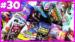 Random Blind Bag Opening #30 - Shopkins, Roblox Celebrity Series 2, Super Mario, Fashems & MORE!