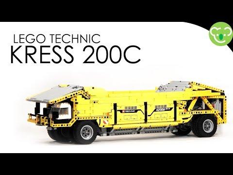 Lego Technic MOC - Caul Hauler inspired from Kress 200C
