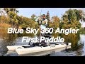 First Bass on the Blue Sky Angler 360