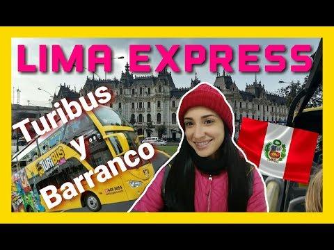 LIMA EXPRESS - PERÚ - BARRANCO -TURIBUS EN LIMA