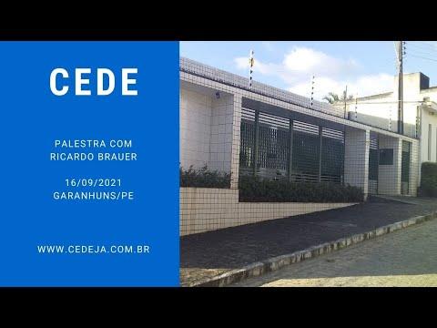 Palestra com Ricardo Brauer - vídeo no canal