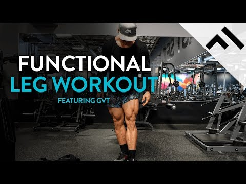 Functional Leg Workout From Hell