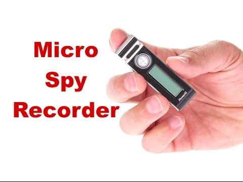 Wireless Covert Listening Devices - Voice Activated Audio Recorder - Spy Recording Devices