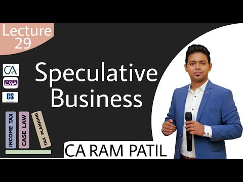 Lecture 29 : Speculative Business
