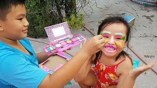 Trò Chơi Bé Vui Trang Điểm Làm Đẹp ❤ ChiChi ToysReview TV ❤ Đồ Chơi Trẻ Em Baby Fun Bài Hát Vần Thơ