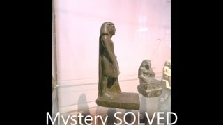 Mysterious spinning Egyptian statuette: MYSTERY SOLVED