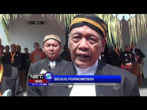 Peringatan Raja Pakubuwono Naik Tahta - NET5