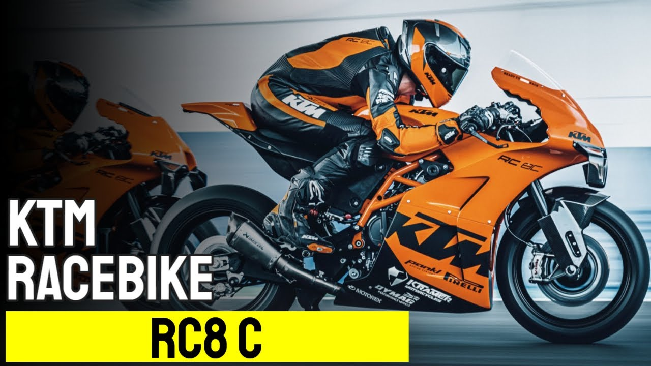 16+ KTM RC8 C – limitiertes Bike für den Racetrack › Motorcycles.News ... Stock