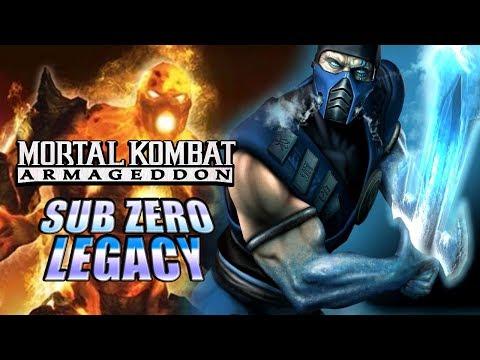 Freeze The Blaze! - SUB-ZERO LEGACY: Mortal Kombat Armageddon (Xbox 2006)
