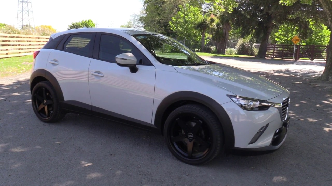New Mazda Cx 3 Glx Presentation With 20 Dtm Alloys Youtube