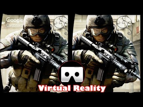 3D Counter Strike   3D Side by Side SBS VR Active Passive