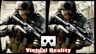 3D Counter Strike | 3D Side by Side SBS VR Active Passive