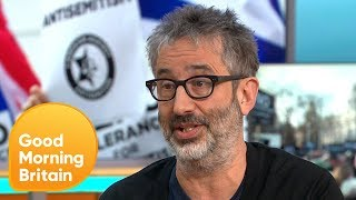 David Baddiel Thinks Racism Should Be Tackled Equally | Good Morning Britain