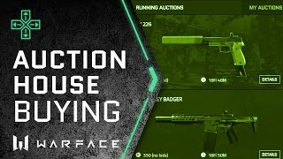 Warface - Auction House Guide - How to Buy Items