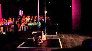 Arlene Caffrey - All Ireland Pole Dancing Championship 2011