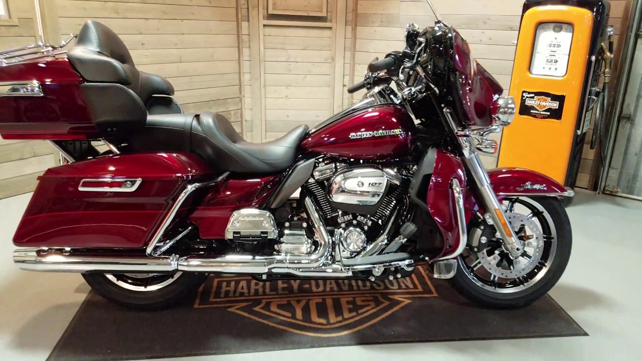 2017 Electra Glide Ultra Limited Flhtk In Mysterious Velocity Red
