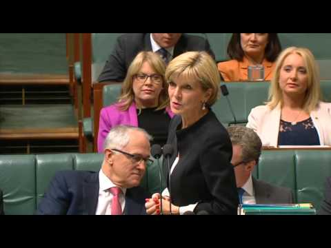 Question to the Foreign Minister about the New Colombo Plan