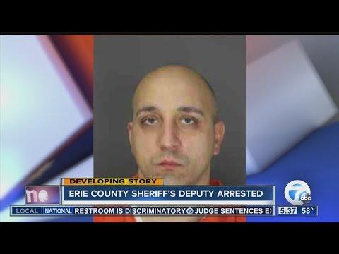 Erie County Sheriff's Deputy Arrested