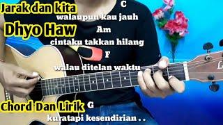 Download Kunci Gitar Dhyo Haw Jarak Dan Kita - Tutorial Gitar By Darmawan Gitar