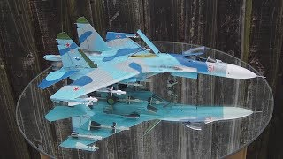 Gambar cover From box to final reveal. Full build of Academy 1/48 SU-27 Flanker B by Stephen Pryke