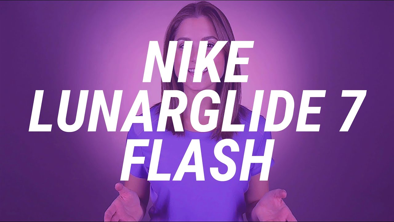 Fit Expert Review  Women s Nike LunarGlide 7 Flash - YouTube 005c86438fc2