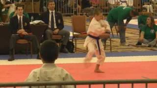 Tyler Swanson's Gold Medal Kata (Kanku Sho) at US Open in Las Vegas