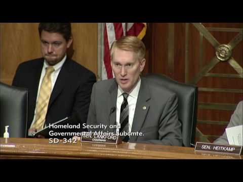 Senator Lankford Gives Opening Statement at a Regulatory Affairs Hearing