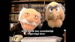 The Muppet Show - Two Old men and internet - NL sub