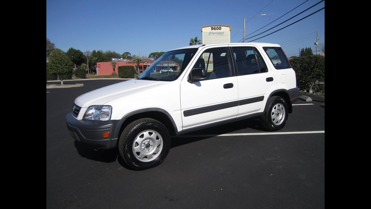3k In Miles >> SOLD 2001 Honda CR-V LX 2WD 89K Miles Meticulous Motors ...