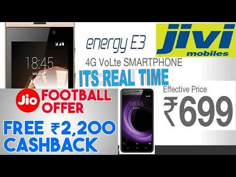 511e521a667 Rs 699 only Jivi Mobile Energy E3 with Jio Football Offer cashback of Rs  2