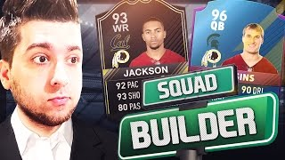 ALL-TIME REDSKINS SQUAD BUILDER! MADDEN 17 ULTIMATE TEAM (GM MODE!)