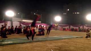 Gymnastics at Delhi Public School Lucknow