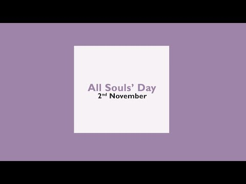 A Prayer for All Souls' Day