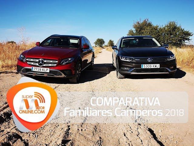 Comparativa de Familiares Camperos 2018 / Al volante / Review / Supermotoronline.com
