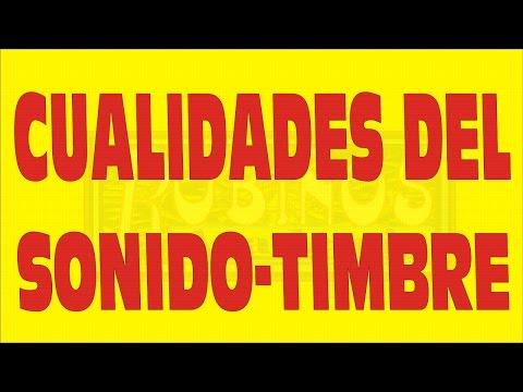 CUALIDADES DEL SONIDO-TIMBRE