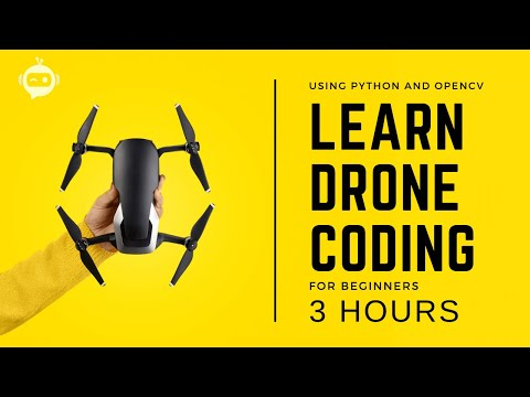 Drone Programming With Python Course | 3 Hours | Including x4 Projects (2021)
