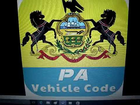 Pa. Vehicle Code, Section 1101, Summary
