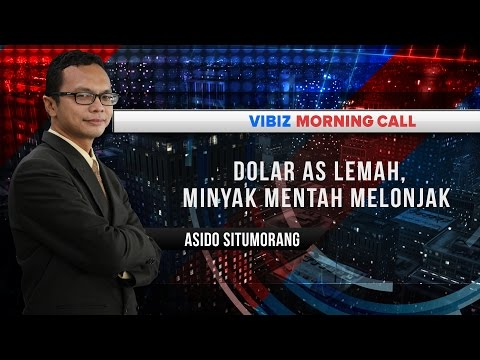 Dolar AS Lemah, Minyak Mentah Melonjak, Vibiznews 6 September 2016