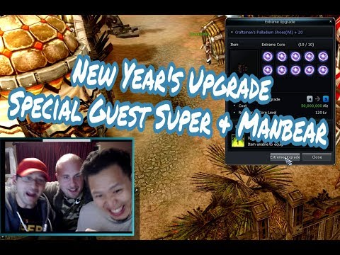 Romp ◆ New Year's Upgrades ◆ Special Guest Super & ManBear ◆ CABAL Online (Titan)
