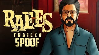 Raees Trailer Spoof || Shah Rukh Khan || Shudh Desi Endings