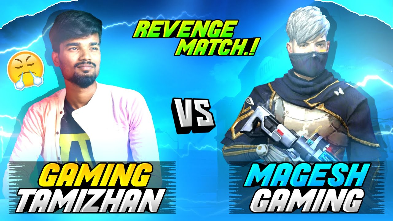 ?Revenge Match?| Magesh Gaming Vs Gaming Tamizhan | Best Clash Squad 1 vs 1 Match | Free Fire Tamil