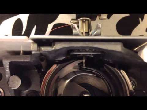 Sewing machine won't pick up bobbin thread | hook timing fix