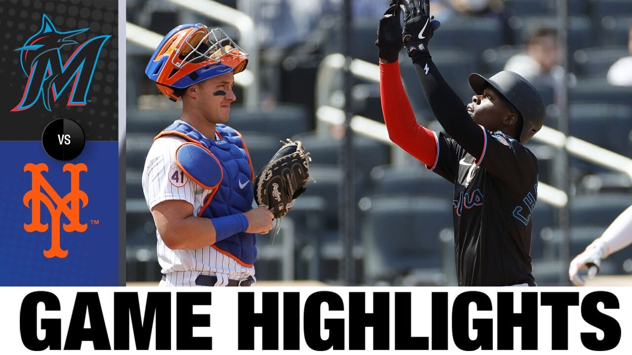 Download Marlins vs. Mets Game Highlights (4/10/21) | MLB Highlights