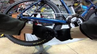 как правильно одевать цепь на скоростной велосипед(Как правильно установить цепь на скоростном велосипеде необходимой длины, чтоб работали все скорости...., 2015-05-03T11:19:09.000Z)