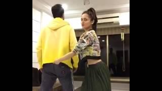 رقص عامر علي و سانجيدا بطله مسلسل لهيب الحقد  (دورغا)😍😚😘😙