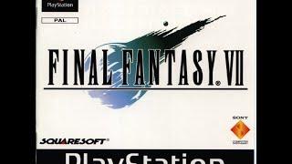 Final Fantasy VII - Game Manual (PSX) (Instruction Booklet)