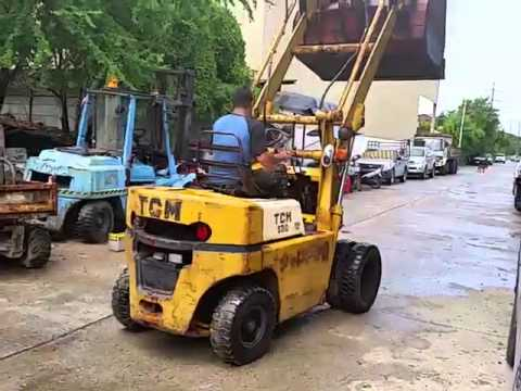 ขาย รถตักล้อยางTCM SD10 เครื่องดีเซล ISUZU ล้อหน้าคู่ สูง 3.50 เมตร ราคา148,000